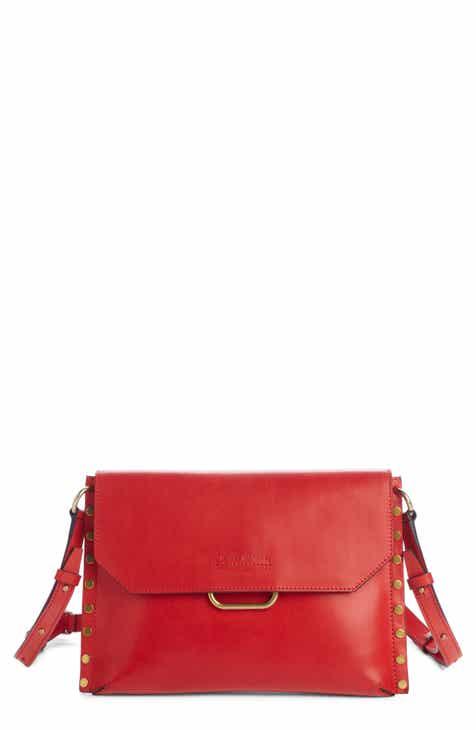 Isabel Marant Sinky Leather Crossbody Bag f45fb597ea