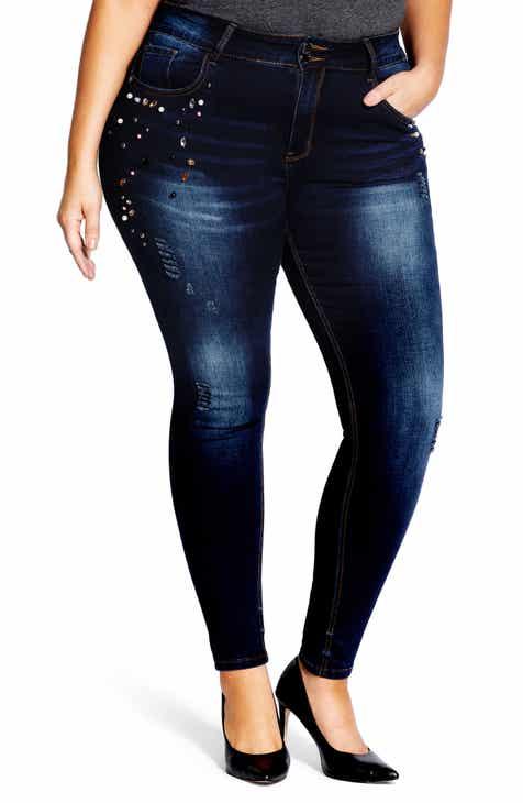 a6d66c276bbb City Chic Women s Jeans Plus-Size Clothing