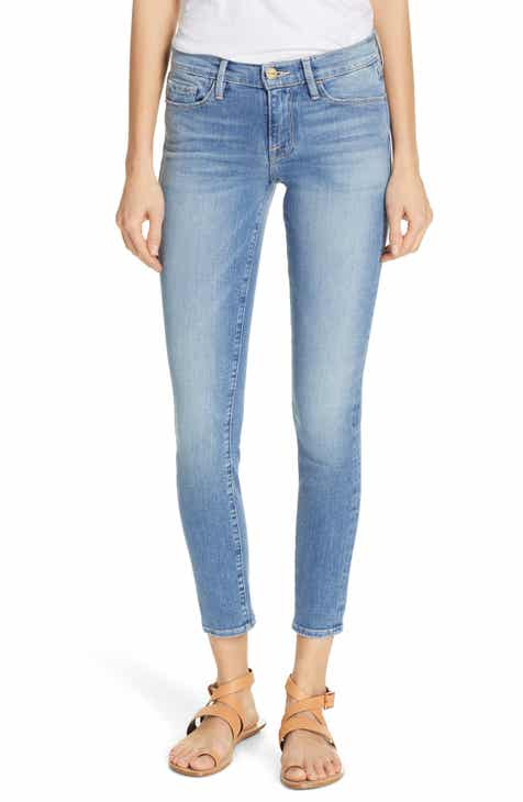FRAME Le Skinny de Jeanne Ankle Skinny Jeans (Queen) by FRAME DENIM