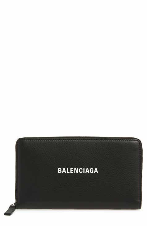 e6d1df1f4eaa Balenciaga Everyday Leather Accordion Wallet