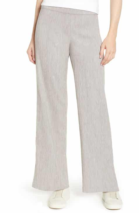 0b86f61b002 NIC+ZOE Here or There Linen Blend Pants (Regular   Petite)