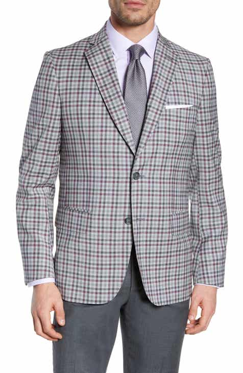 d77e21bb640 John W. Nordstrom® Traditional Fit Check Sport Coat