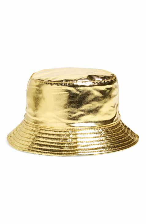 a28ba3605f0 La Double 7 Metallic Reversible Bucket Hat
