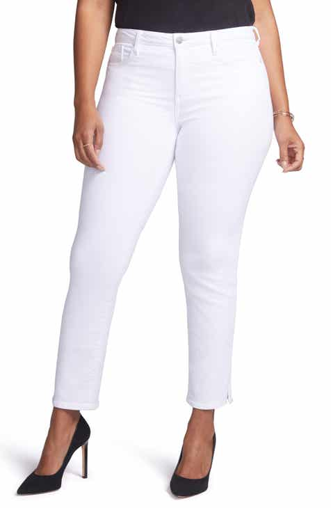 Curves 360 by NYDJ Slim Straight Leg Ankle Jeans (Regular, Petite & Plus Size) by CURVES 360 BY NYDJ