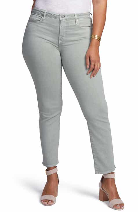 d523f38d924 Curves 360 by NYDJ Slim Straight Leg Ankle Jeans