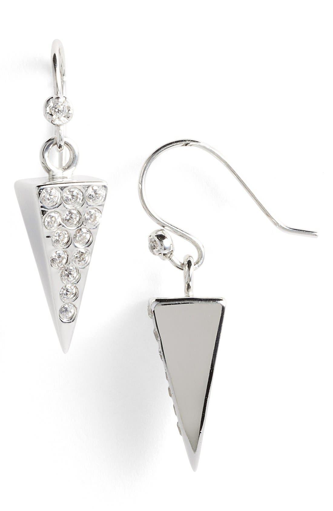 Alternate Image 1 Selected - Melinda Maria 'Pyramid' Drop Earrings