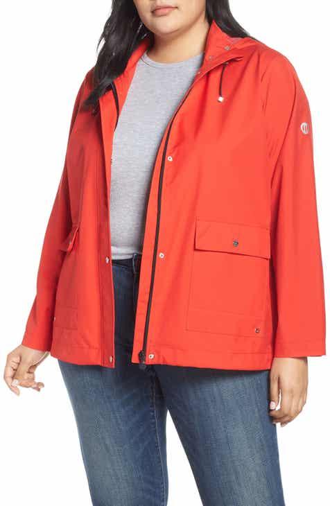 129c0eec56e Bernardo Microbreathable Hooded Raincoat (Plus Size)
