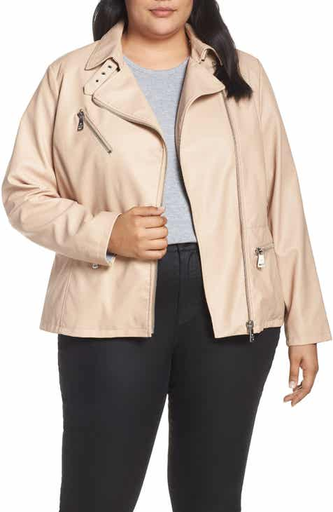 2b647213dba2e Women s Bernardo Leather   Faux Leather Coats   Jackets