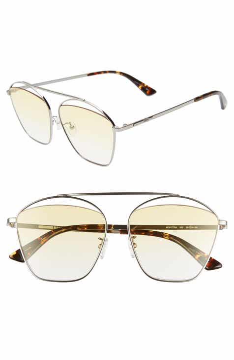 6387187fd2 McQ Alexander McQueen 59mm Aviator Sunglasses