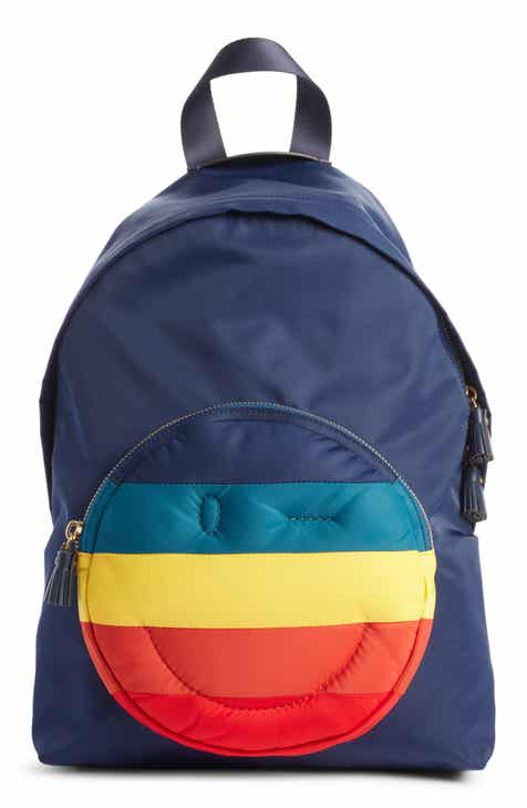 3b5c99579aba Anya Hindmarch Rainbow Chubby Wink Nylon Backpack