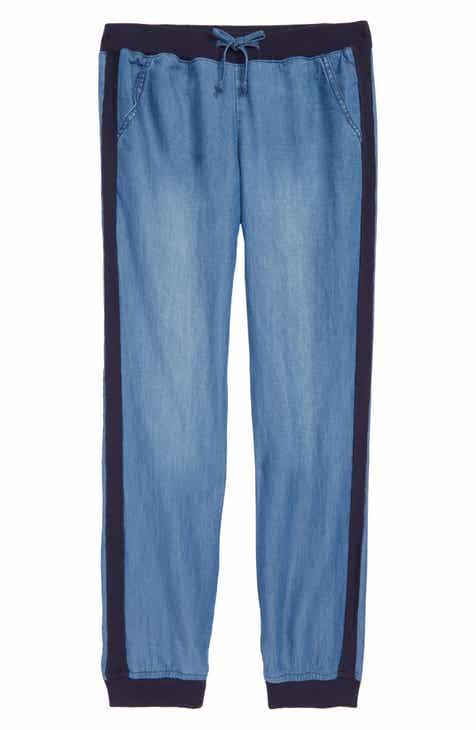 6156d771447b Tractr Side Stripe Jogger Pants (Big Girls)