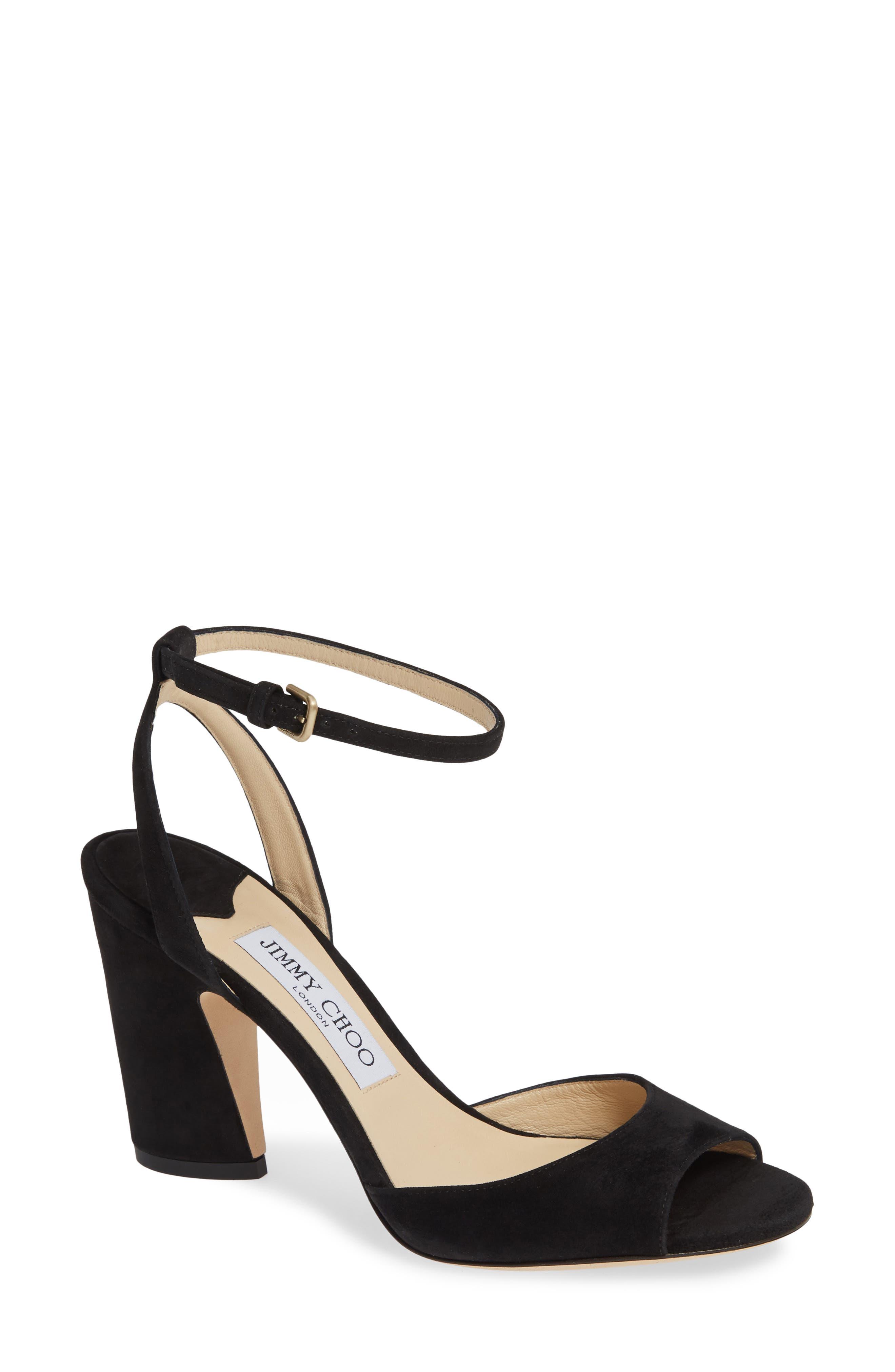b6a0383deb1 Jimmy Choo Block-Heel Sandals for Women
