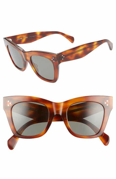 0b0047fb37 CELINE 50mm Square Sunglasses