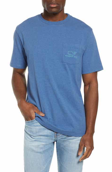 d566d84f3e1b vineyard vines Vintage Whale Pocket T-Shirt