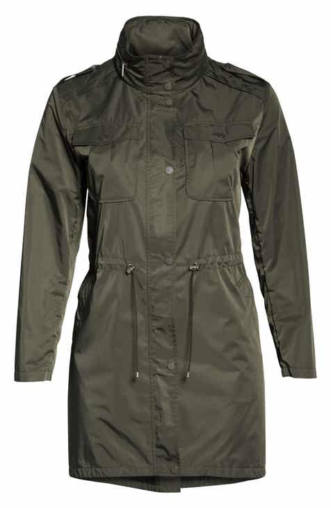 ddbf5e75e1af8 Badgley Mischka Dakota Raincoat (Plus Size)