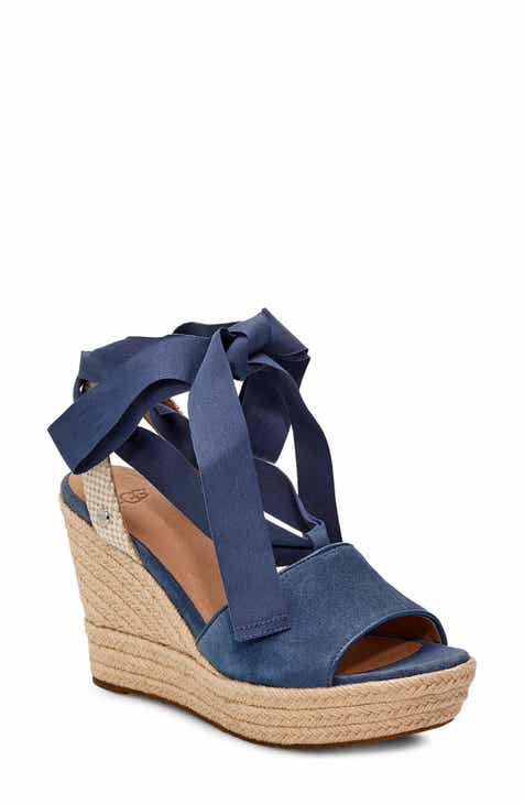 278df0628b89 UGG® Shiloh Wedge Sandal (Women).  149.95. Product Image. MEDIUM BLUE SUEDE