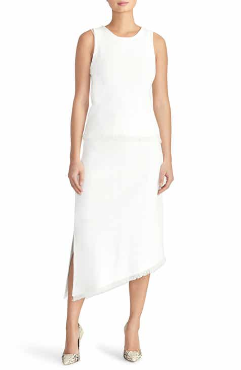 6a687cba6ed Rachel Roy Collection Pointelle Asymmetrical Knit Skirt