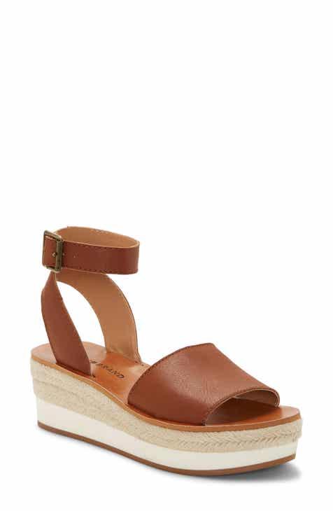bbf7fbbfe3f Lucky Brand Joodith Platform Wedge Sandal (Women)
