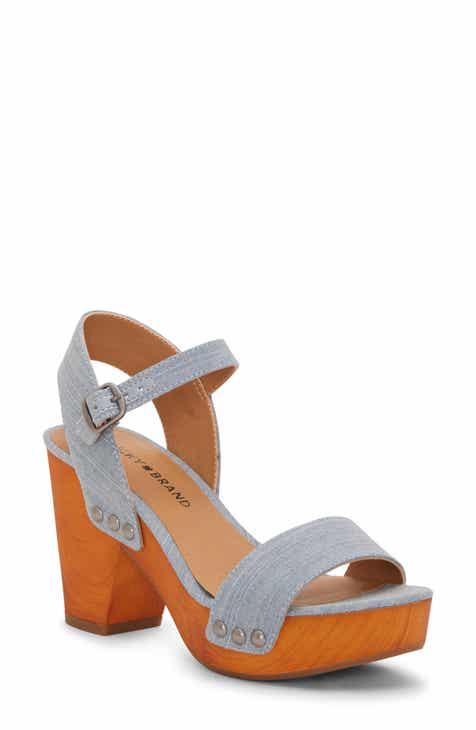 ec3ce66aca93a4 Lucky Brand Trisa Platform Sandal (Women)