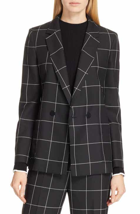 HUGO Ajanisa Windowpane Jacket by HUGO HUGO BOSS