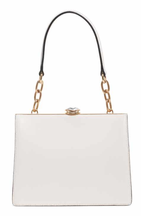 930cb44076a6 Miu Miu City Lady Calfskin Leather Shoulder Bag