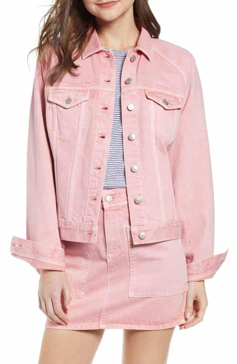 Madewell Raglan Oversize Jean Jacket by MADEWELL