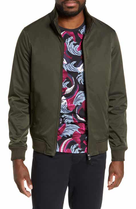 84339ad888b4 Ted Baker London Claude Slim Fit Bomber Jacket