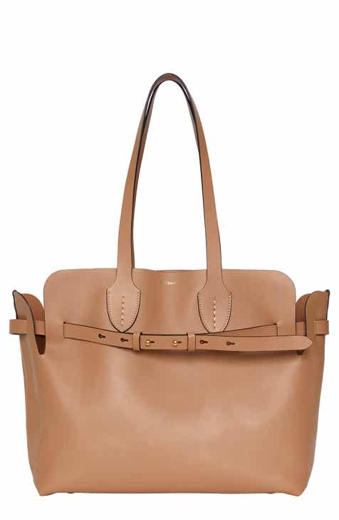 7195a19ba40 Burberry Medium Belt Leather Tote