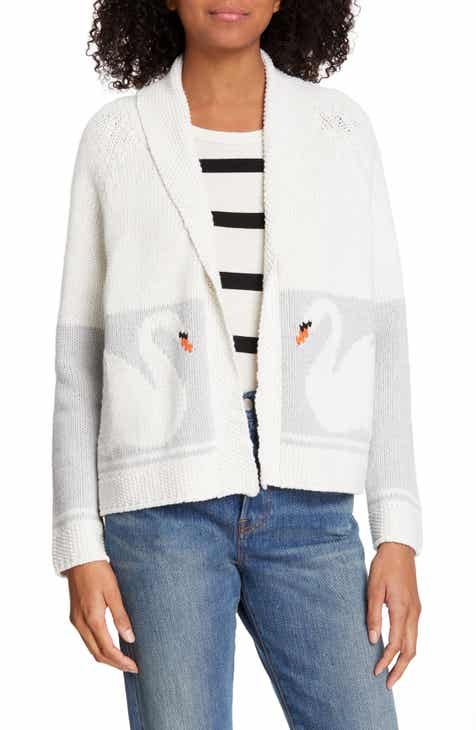 Ted Baker London Pleat Peplum Cardigan by TED BAKER LONDON