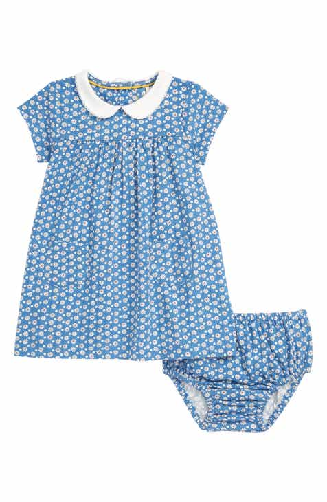 c1a42ef577d Mini Boden Peter Pan Collar Jersey Dress (Baby)