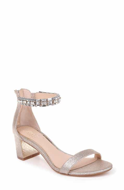 9dcc4b76930 Jewel Badgley Mischka Katerina Ankle Strap Sandal (Women)