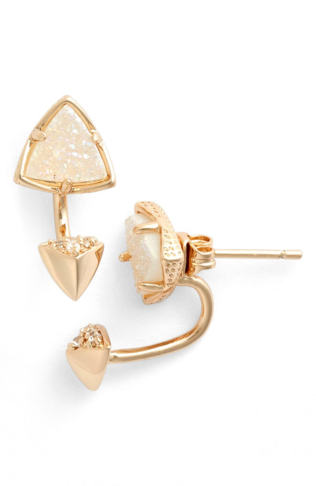 Alternate Image 1 Selected - Kendra Scott 'Brindley' Drop Back Earrings