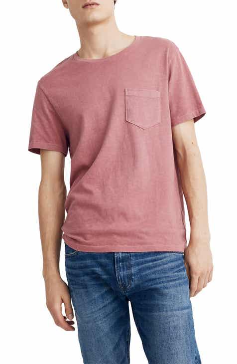 12e0d5cffc6 Madewell Allday Slim Fit Garment Dyed Pocket T-Shirt