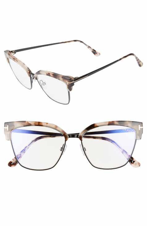 03e249e00 Tom Ford 54mm Blue Light Blocking Glasses