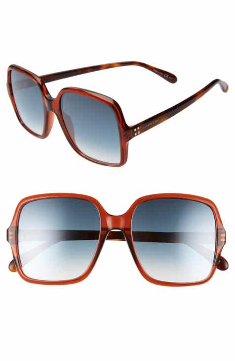 37fefcc02cc Givenchy 55mm Square Sunglasses