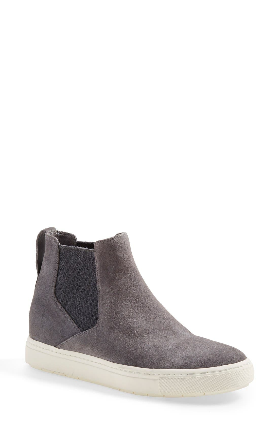 Newlyn High Top Sneaker,                             Main thumbnail 1, color,                             Ceramic Suede