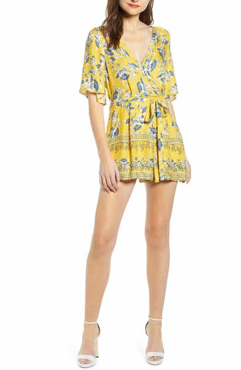 Row A Double-V Romper by ROW A