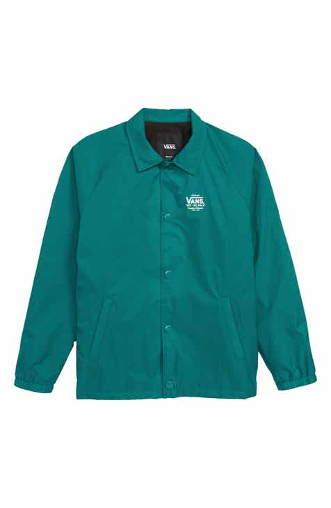 aad6d32c689 Vans Torrey Water Resistant Jacket (Big Boys)