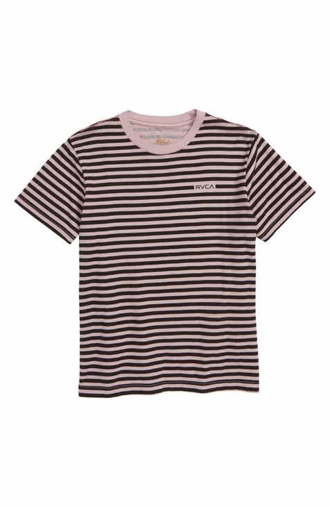 RVCA House Stripe Shirt (Big Boys)