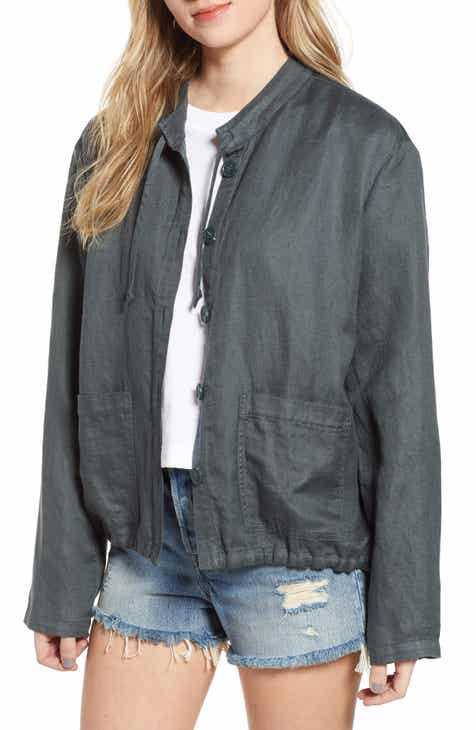 Hinge Oversize Military Jacket by HINGE