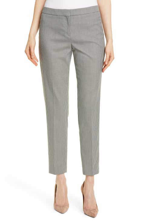 BOSS Tiluna Mini Houndstooth Pants (Regular & Petite) by BOSS HUGO BOSS