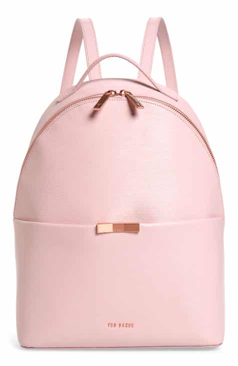 74f8950c7766 Ted Baker London Jenyy Faceted Bow Leather Backpack