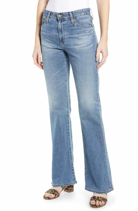 7285837df1 AG Quinne High Waist Flare Jeans (18 Year Ambrosial)