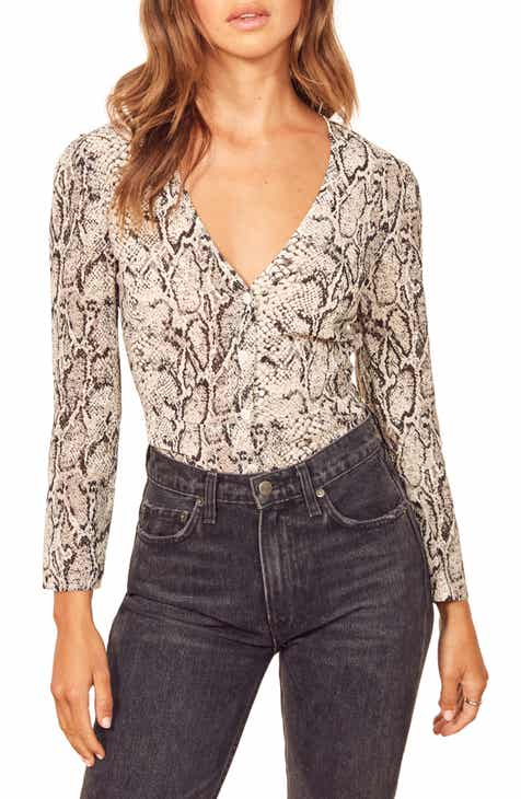893361a0cf40ff Women s REFORMATION Tops