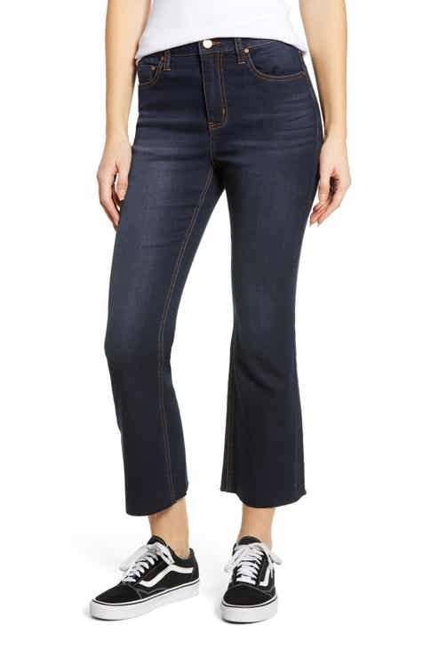 Tinsel Ace High Waist Flare Jeans by TINSEL