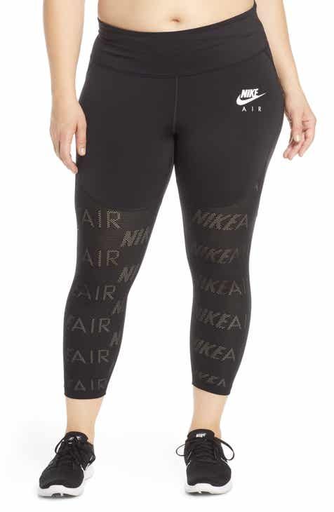 4667bbbaf33b52 Nike Air Dri-FIT Crop Training Tights (Plus Size)