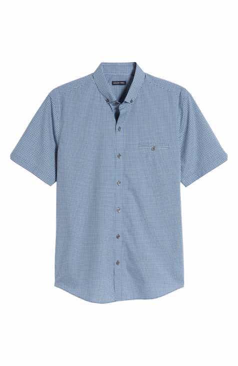 0b09ead73a Zachary Prell Cechini Trim Fit Short Sleeve Sport Shirt