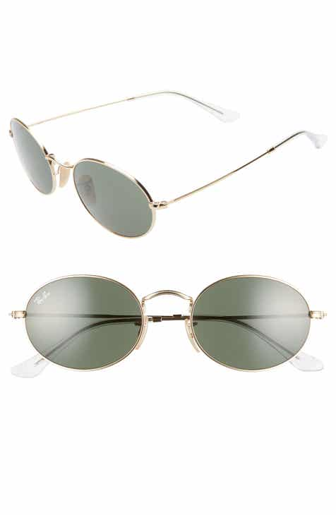 210845553b Ray-Ban 54mm Round Sunglasses