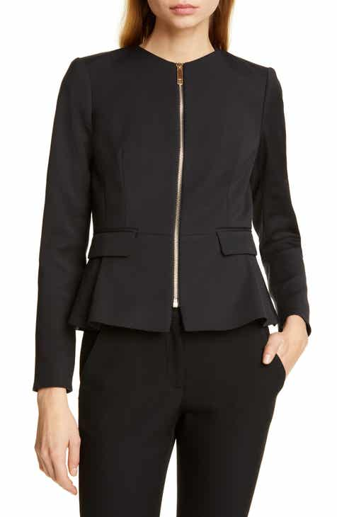 Ted Baker London Zameli Peplum Jacket by TED BAKER LONDON