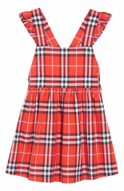 9a67f6bd Burberry Livia Apron Back Dress (Toddler Girls, Little Girls & Big Girls)